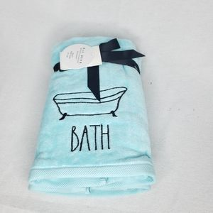 NEW Rae Dunn BATH Set of 2 Hand Towels
